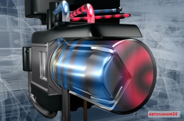 Предпусковой подогреватель двигателя на газу