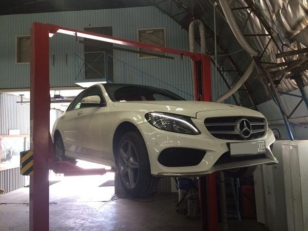 Диагностика Mercedes Benz E-class 3