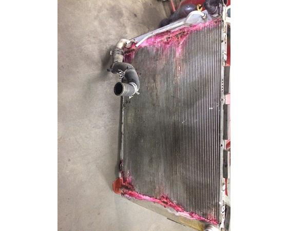 Ремонт Lexus: замена радиатора 2