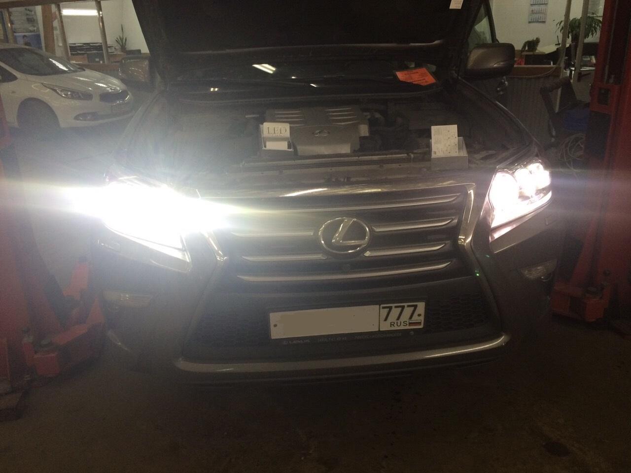 Замена ламп - Тойота 1