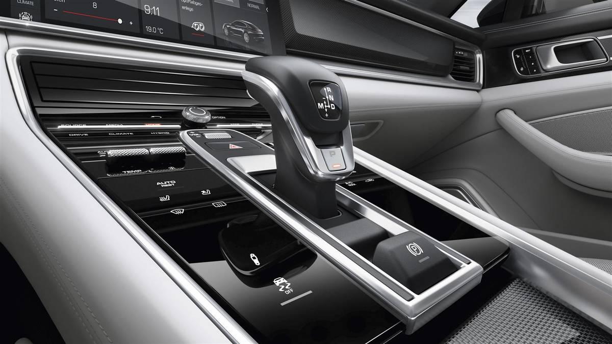 Porsche Panamera 2017 рычаг АККП с элементами управления