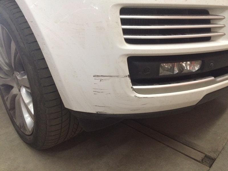 Ремонт бампера Range Rover
